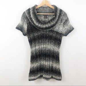 Fenn Wright Manson Brown/Cream Cowl Neck Sweater M